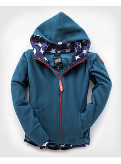Fleecejacke USA Cashmere Blue