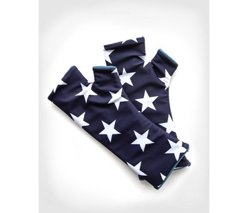 Pulswärmer USA Cashmere Blue