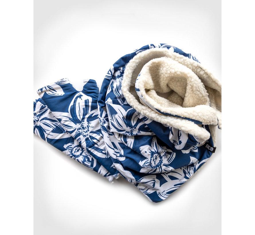 NICETIE Blue Flower