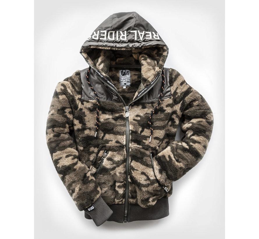 Real Riders CAMO zip jacket