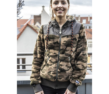 Real Riders CAMO zip jacket