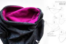 NICETIE - Una nuova interpretazione della sciarpa triangolare delle cowgirls e dei ragazzi