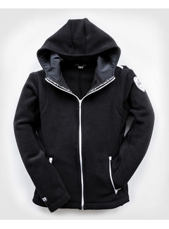 POLAR Hooded FLEECEJacket Black