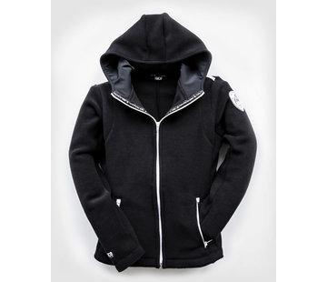 POLAR Hooded FLEECEJacket Black