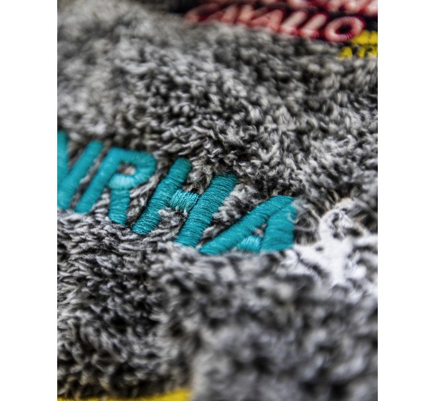 Giacca IRHA Derby / NRHA con cappuccio melange