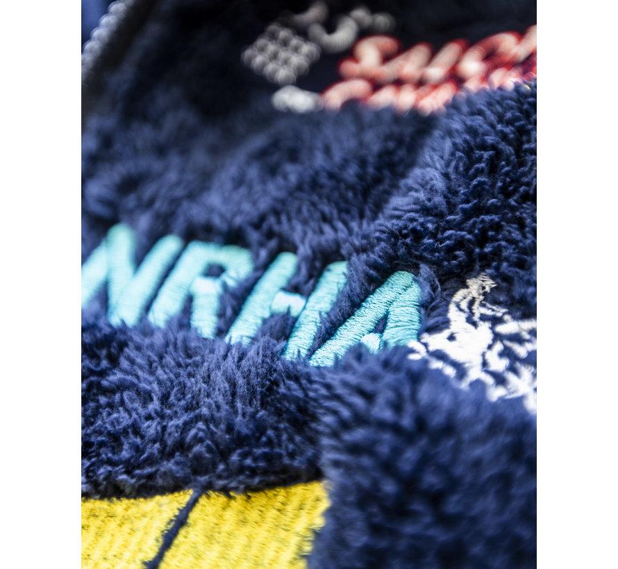 Giacca con cappuccio IRHA Derby / NRHA Blu