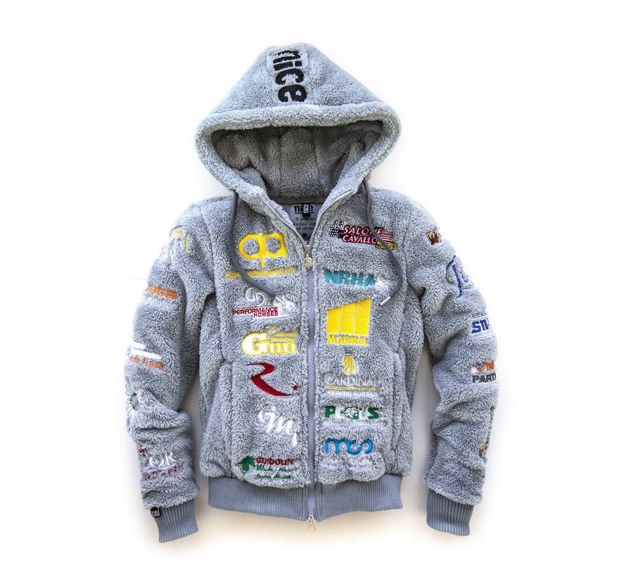 IRHA Derby / NRHA hooded jacket Grey