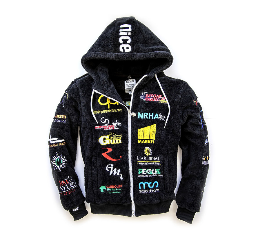 IRHA Derby / NRHA hooded jacket Black