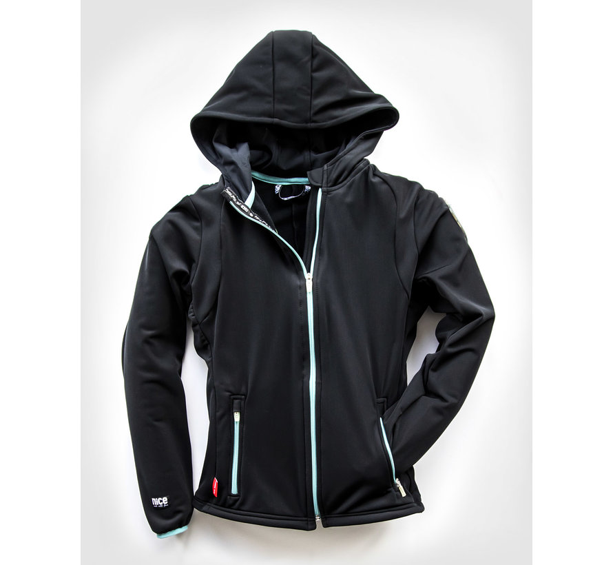 SPORT TEC hooded jacket Black