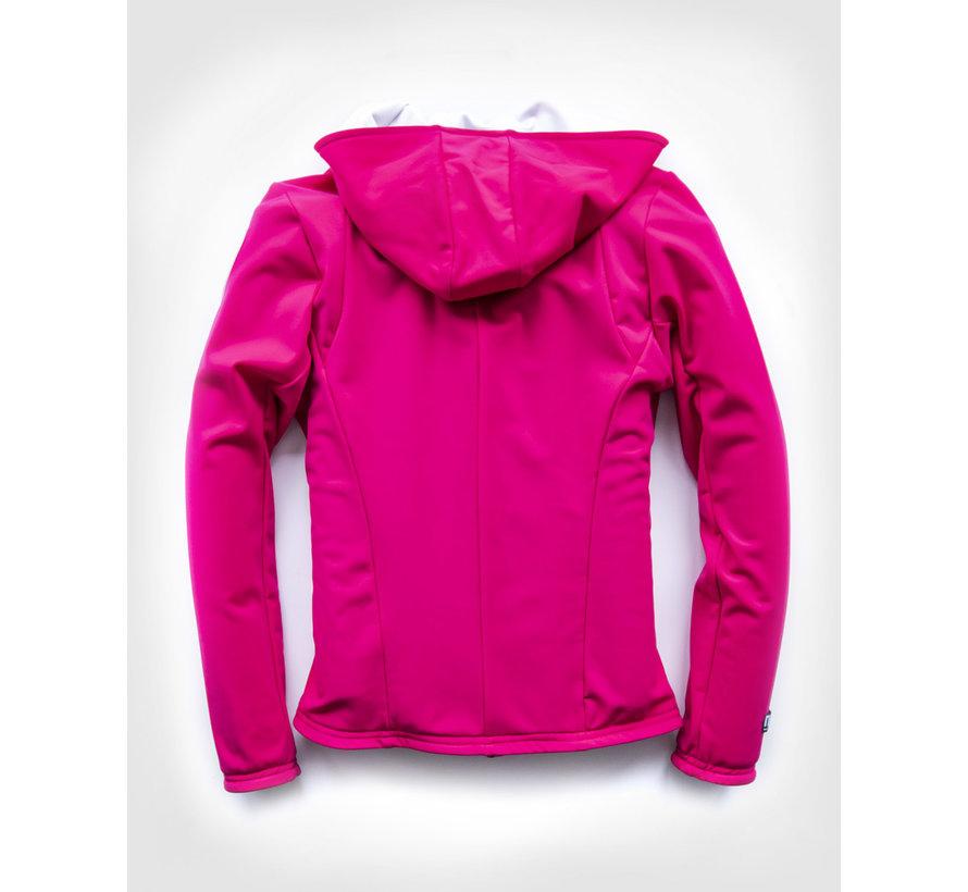 SPORT TEC Kapuzenjacke Pink White