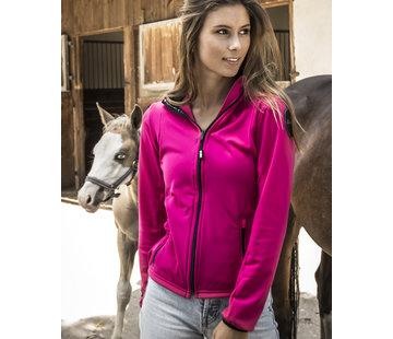 SPORT TEC hooded jacket Pink Black