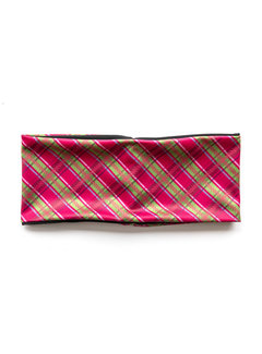 HEADBAND Scottish Pink