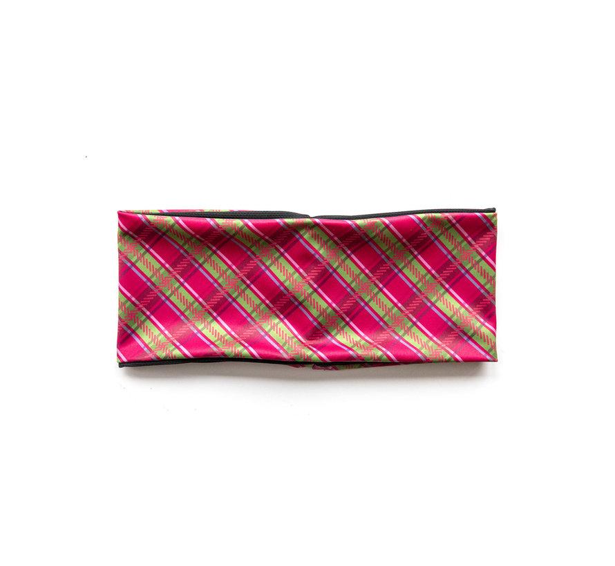HEADBAND Scottish Pink