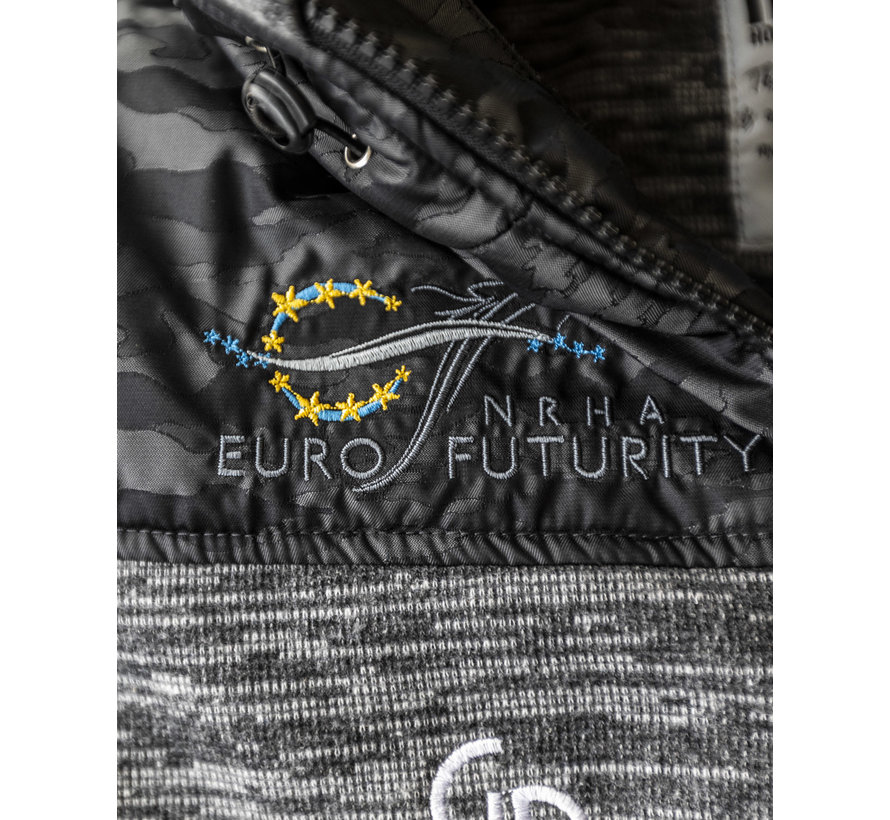 Giacca NRHA / IRHA Futurity 20 BLACK CAMO unisex