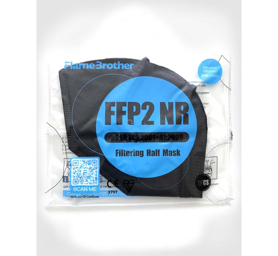 FFP2 Maske in schwarz