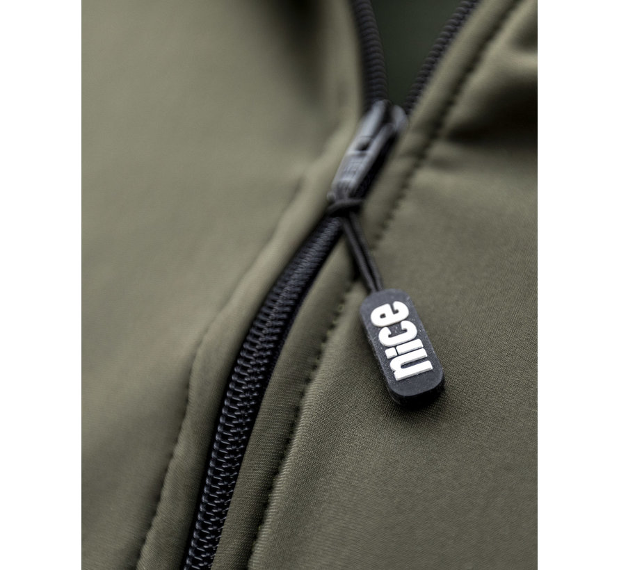 SPORT TEC hooded jacket olive