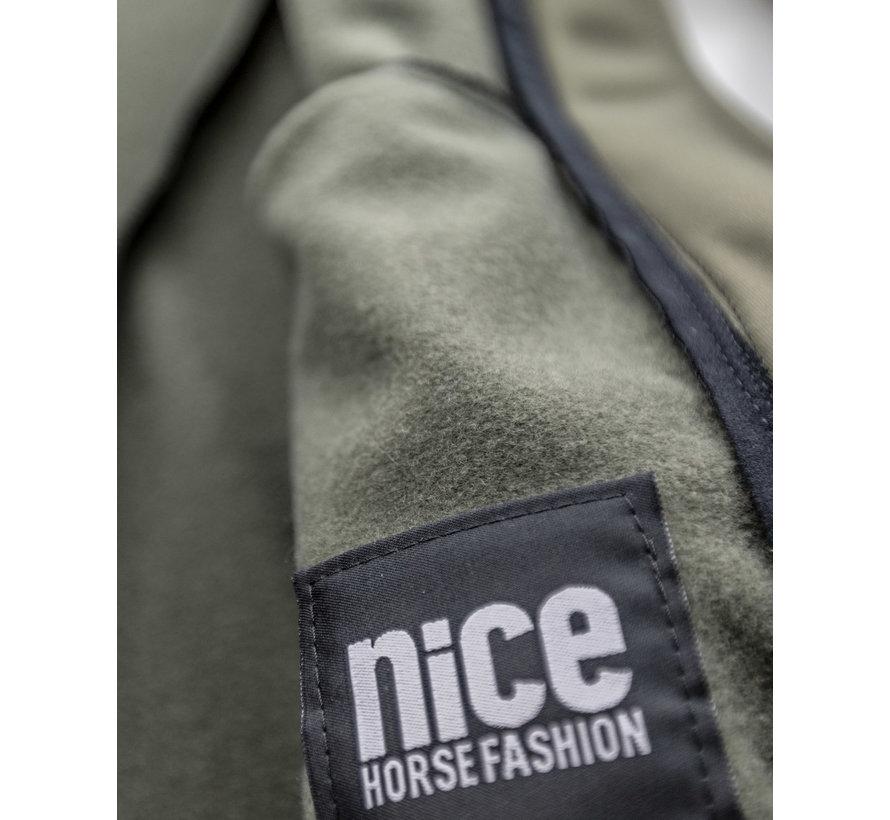 SPORT TEC hooded jacket olive