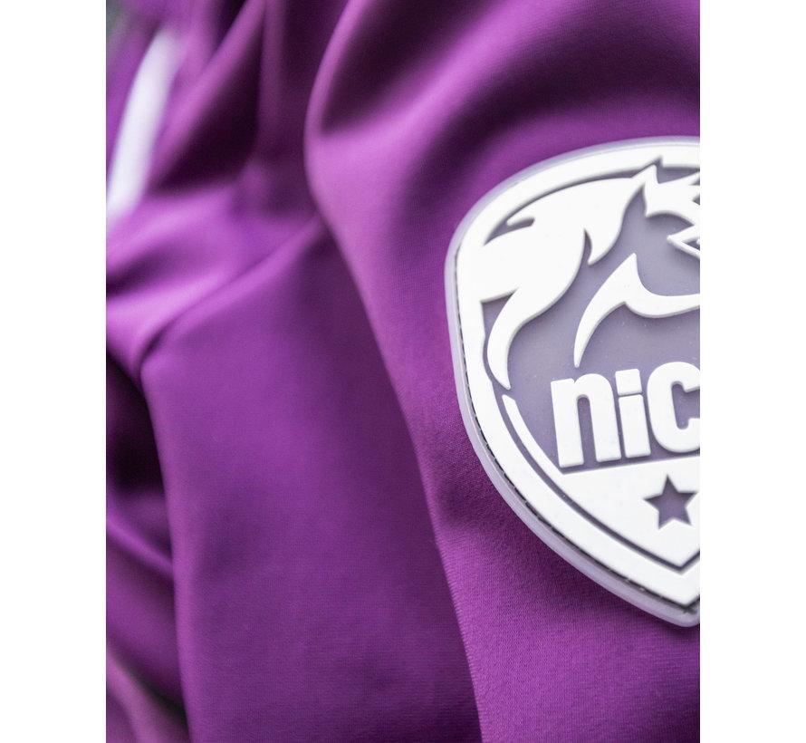 SPORT TEC hooded jacket Purple