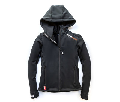 Dry ride hooded jacket