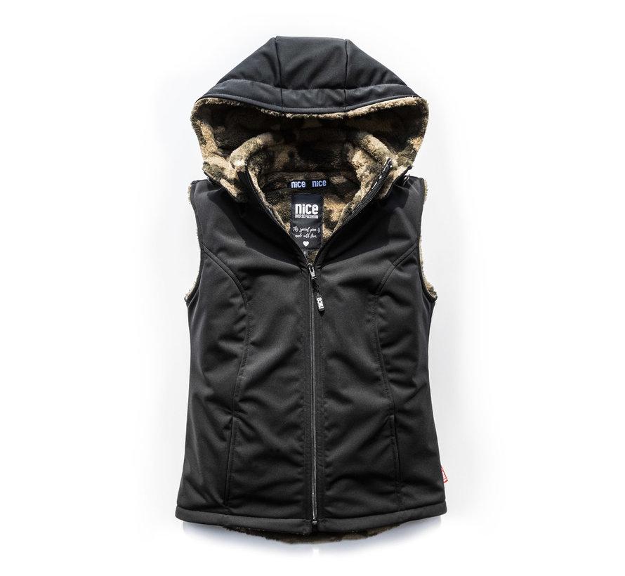 STORMLOCK Black Camoufleece Vest