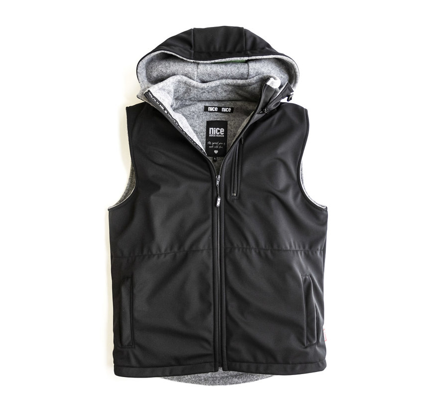 STORMLOCK Black Vest Men