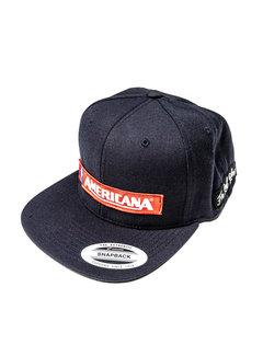 Cappellino trucker Flexfit AMERICANA blu scuro