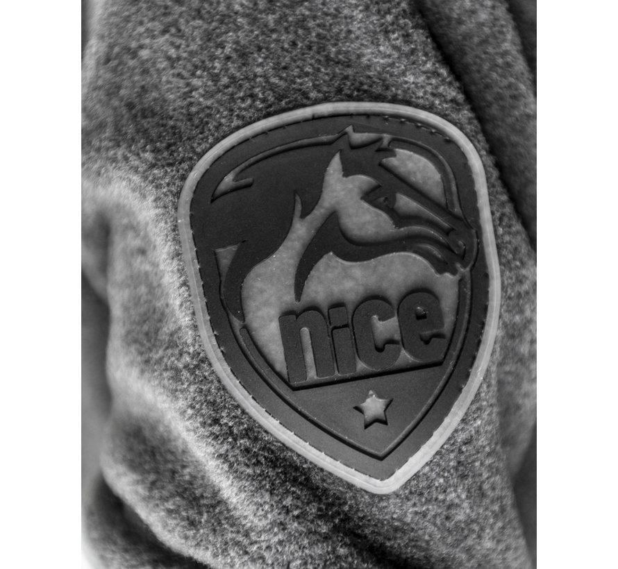 Giacca con cappuccio HORSE SPORT ZIP grigio