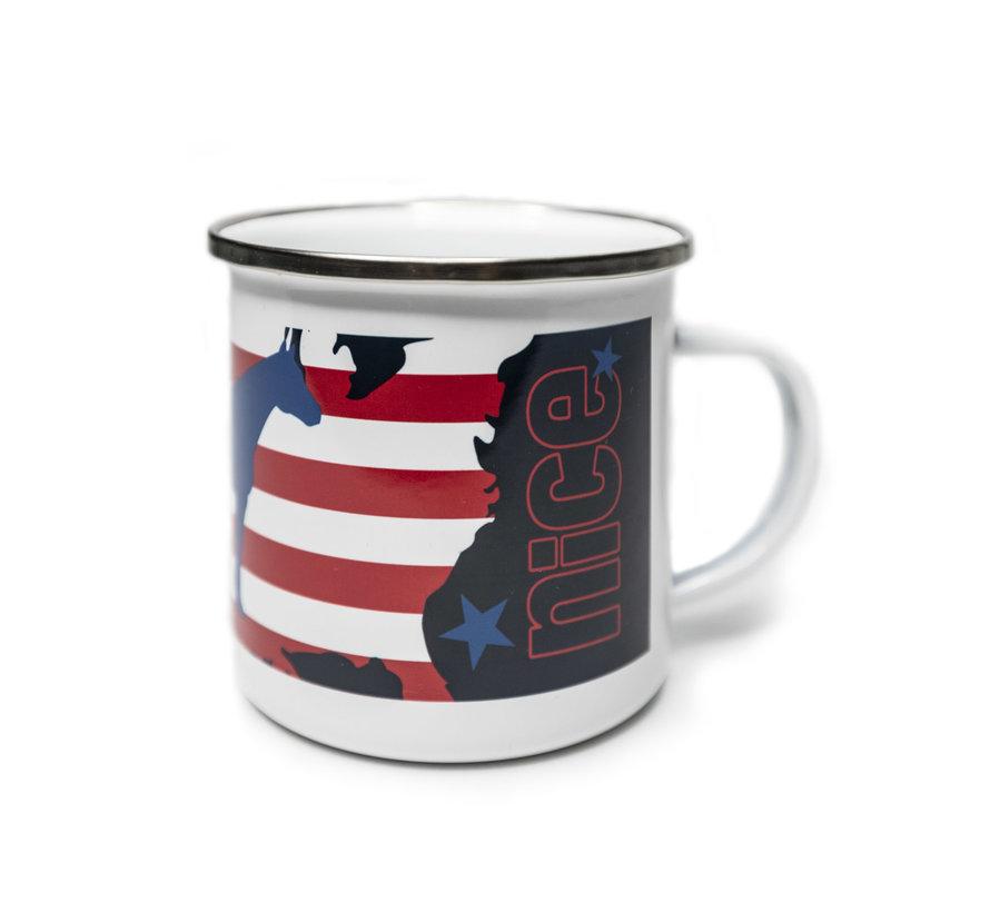 AMERICANA Cowboy Coffee Cup
