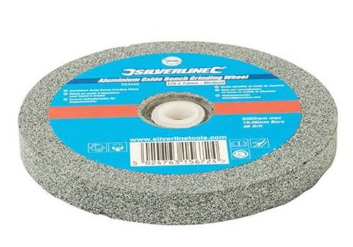 Silverline Aluminiumoxide tafelslijpmachine wiel 125 x 13 mm