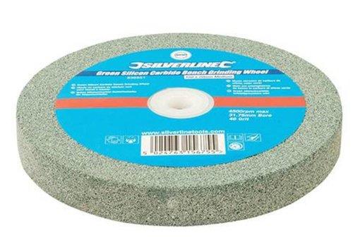 Silverline Groen siliciumcarbide tafelslijpmachine wiel 150 en 200mm x 20 mm