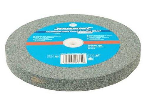 Silverline Aluminiumoxide tafelslijpmachine wiel 200 x 20 mm