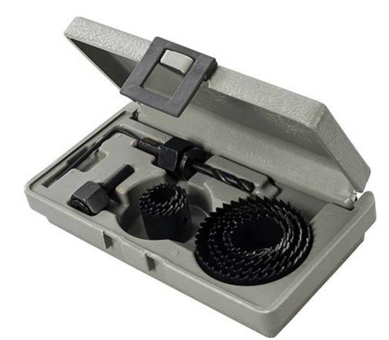 11-delige gatenzaag set 19 - 64 mm