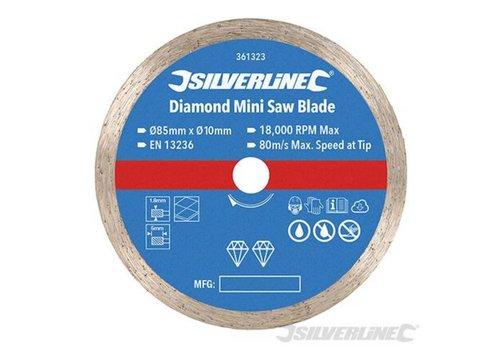 Silverline mini zaagblad Diamant 85mm