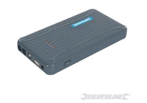 Silverline 12 V Li-ion Powerbank 6000 mAh