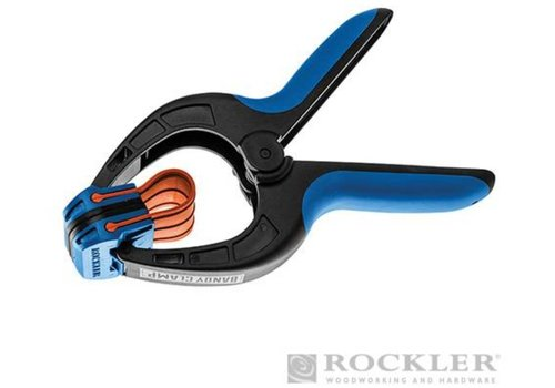 Rockler Grote lijmklemmen met rubberen band, 2 pk