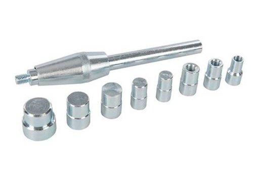 Silverline 9-delige koppeling centreer pen set