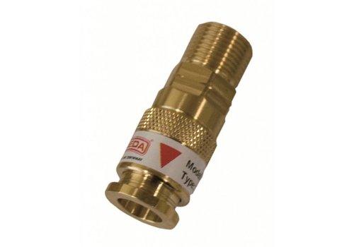"Sievert Snelkoppeling externe schroefdraad, G3/8""G"