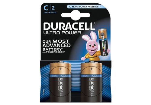 Duracell Alkaline Ultra Power C 2st