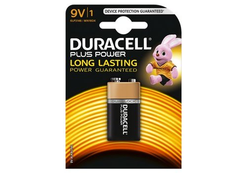 Duracell Alkaline Plus Power 9V 1st.
