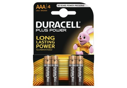 Duracell Alkaline Plus Power AAA 4st.