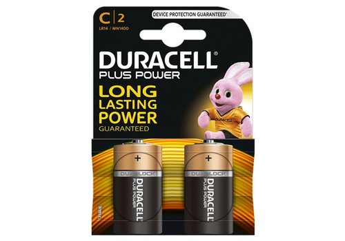 Duracell Alkaline Plus Power C 2st.