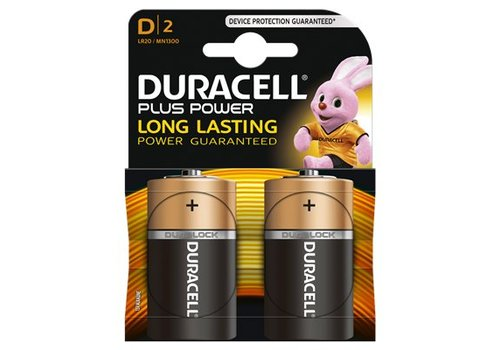 Duracell Alkaline Plus Power D 2st.
