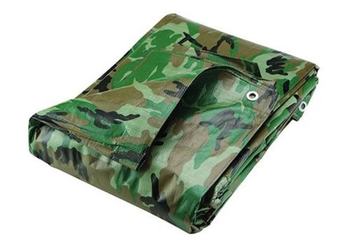 Silverline Camouflage dekzeil 2,4 x 3 m