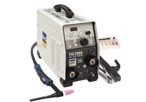 GYS Lasinverter GYSMI TIG 200 DC HF FV 16A