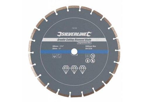 Silverline Graniet snijschijf 300x20 mm