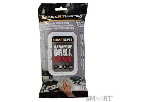 SMAART Reinigingsdoekjes voor barbecuerooster, 12 stuks