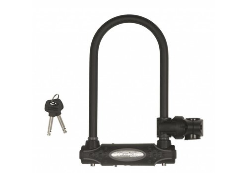 MasterLock U-Slot, 210x110mm, Ø13mm, zwart