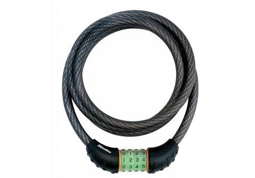 MasterLock Kabelslot, 4 cijfers, 1,8m, Ø12mm