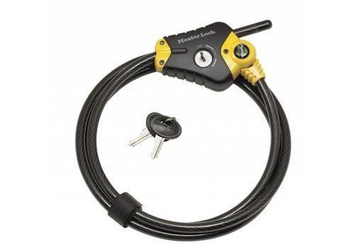 MasterLock Kabelslot, Python, 1,8m, Ø10mm