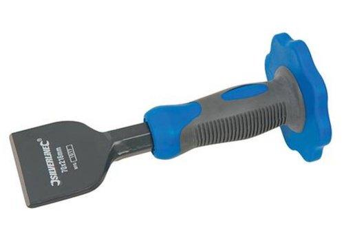 Silverline Voegbeitel met beschermgrip 70 mm